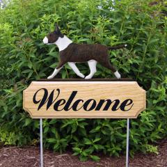 Bull Terrier Welcome Stake