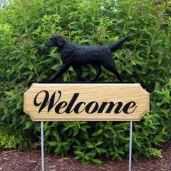 Flat Coated Retriever Welcome Stake