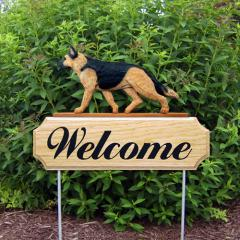 German Shepherd Welcome Stake