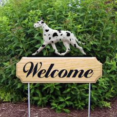 Great Dane Welcome Stake