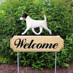 Jack Russell Terrier Welcome Stake
