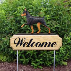 Miniature Pinscher Welcome Stake