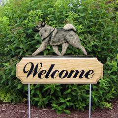 Norwegian Elkhound Welcome Stake
