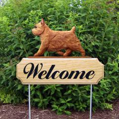 Norwich Terrier Welcome Stake