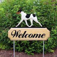 Toy Fox Terrier Welcome Stake