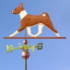 Basenji Dog Weathervane