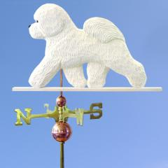 Bichon Frise Dog Weathervane