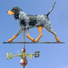 Bluetick Coonhound Dog Weathervane