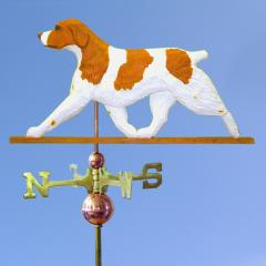 Brittany Dog Weathervane