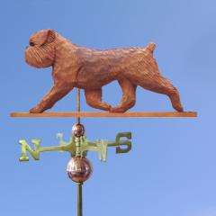 Brussels Griffon (Natural) Dog Weathervane