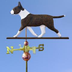 Bull Terrier Dog Weathervane