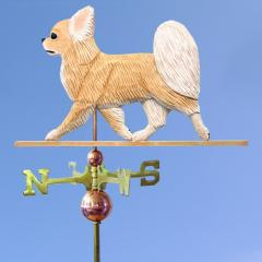 Chihuahua (Long Hair) Dog Weathervane