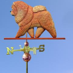 Chow Chow Dog Weathervane