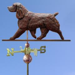 Field Spaniel Dog Weathervane