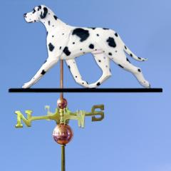 Great Dane (Natural) Dog Weathervane