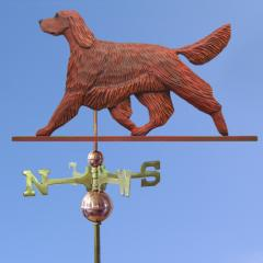 Irish Setter Dog Weathervane