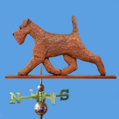 Irish Terrier Dog Weathervane