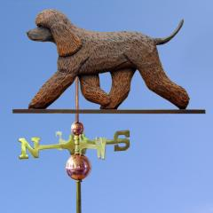 Irish Water Spaniel Dog Weathervane