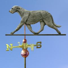 Irish Wolfhound Dog Weathervane