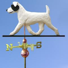 Jack Russell Terrier (Rough) Dog Weathervane