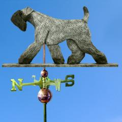 Kerry Blue Terrier Dog Weathervane