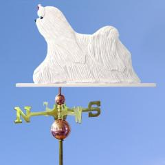 Maltese Dog Weathervane