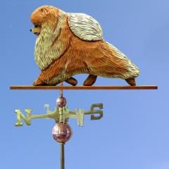 Pomeranian Dog Weathervane
