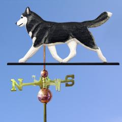 Siberian Husky Dog Weathervane