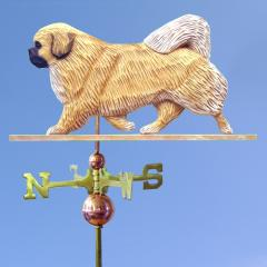 Tibetan Spaniel Dog Weathervane