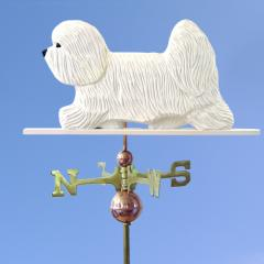 Coton de Tulear Dog Weathervane