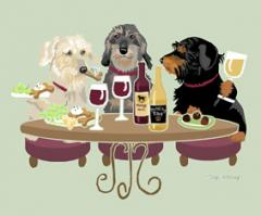 Dachshund, Wire Dog's WINEing