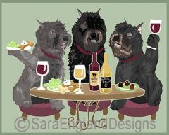 Bouvier des Flandres Dog's WINEing