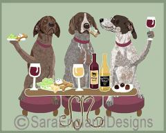 German Shorthaired Pointer Dog's WINEing