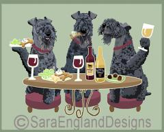 Kerry Blue Terrier Dog's WINEing
