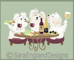 Maltese Dog's WINEing