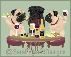 Pug Dog's WINEing
