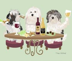 Havanese Dog's WINEing