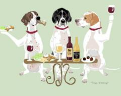 Pointer Dog's WINEing