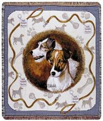 Jack Russell Terrier Dog Throw