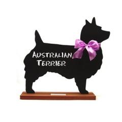 Australian Terrier Dog Breed Chalkboard