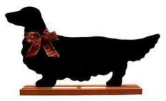 Dachshund Long Dog Breed Chalkboard