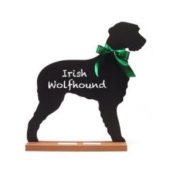 Irish Wolfhound Dog Chalkboard