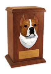 Am Staffordshire Terrier Memorial Urn
