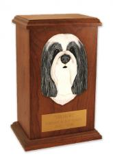Bearded Collie Memorial Urn
