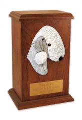 Bedlington Terrier Memorial Urn