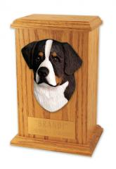 Bernese Mountain Dog Memorial Urn