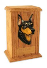 Doberman Pinscher Memorial Urn
