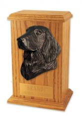 Flat Coated Retriever Memorial Urn
