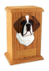 Saint Bernard Memorial Urn