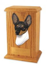 Toy Fox Terrier Memorial Urn